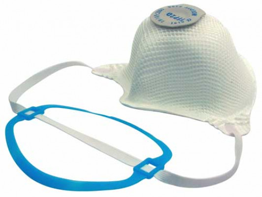 Dust mask, disposable, fine-dust, protective class: ffp2d