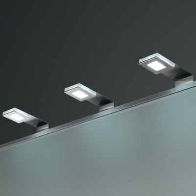 LED cornice downlight 12V/1.5W, 130x45x40 mm, IP20, LOOX comp, cool white 6000K