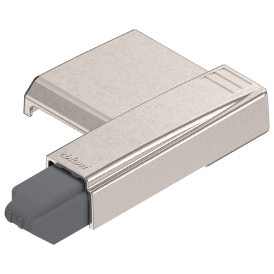 BLUMOTION clip-on for  hinge 170°, OVERLAY & dual applications, nickel