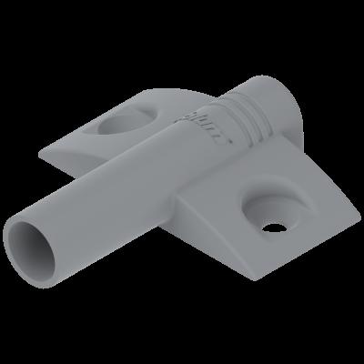 TIP-ON cruciform BLUMOTION adaptor, nylon, grey