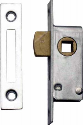 Mortice lock, budget, tee key operation, steel,order lock & strike plate separately, lock