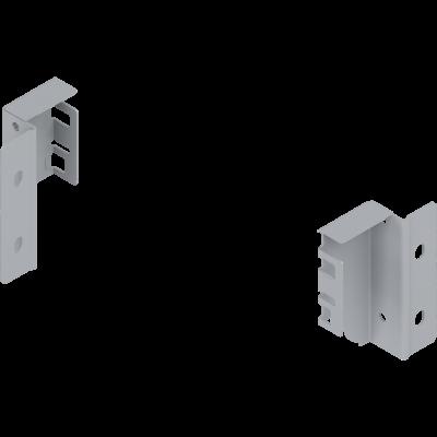 ANTARO/TANDEMBOX back fixings bracket, height M (86 mm), left, metalic grey