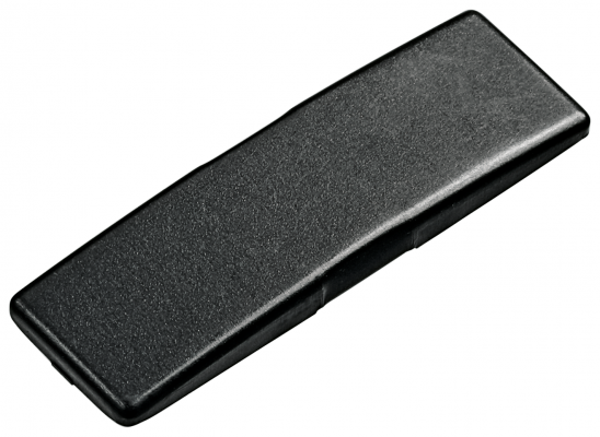 Cover cap for CLIP top hinge, no BLUM logo, onyx black