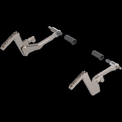 AVENTOS HS lever arms (set), CH=350-800 mm, for SERVO-DRIVE