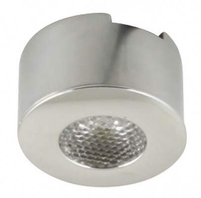 LED round spotlight 1.2W/350mA,  35 mm, rated IP44, Loox pixel SP, cool white 4000 K