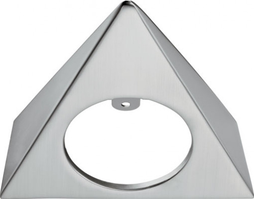 Bezel, triangular, surface mounting LOOX LED 4009 downlight,aluminium, matt nickel