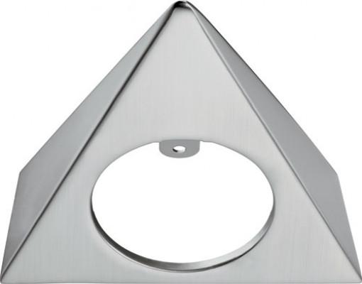 Bezel, triangular, surface mounting Loox LED 4009 downlight, aluminium, matt nickel
