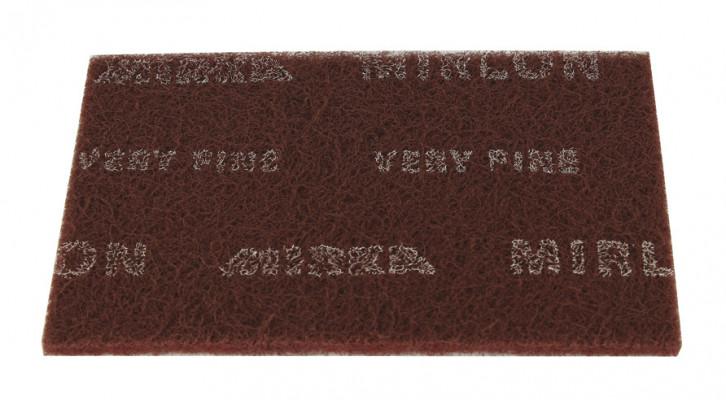 Finishing pad, Mirlon, Mirka, red, very fine