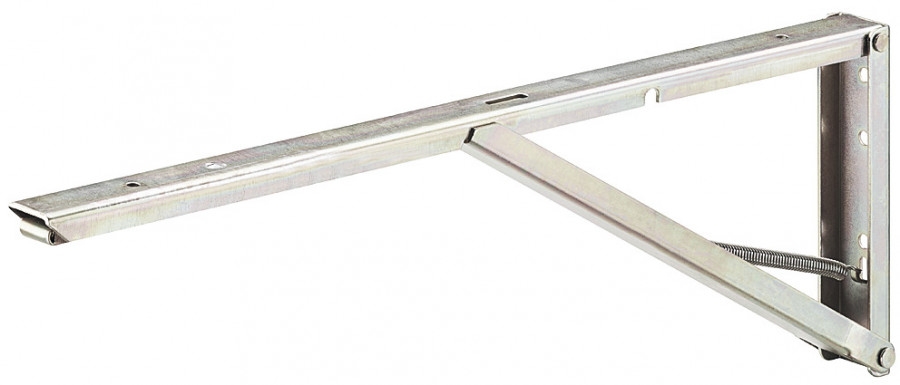 Hinged Spring Bracket St Yell Chr 250mm