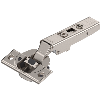 CLIP top BLUMOTION hinge 110°, OVERLAY, boss: SCREW-ON, nickel