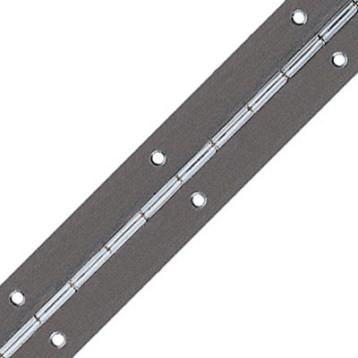 Continuous hinge, rolled, straight piano, 3.5 m 4016 quality magnetic, open width 32 mm