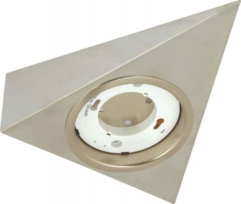 Downlight housing, to suit GX53 downlights, rated IP20, satin stainless steel
