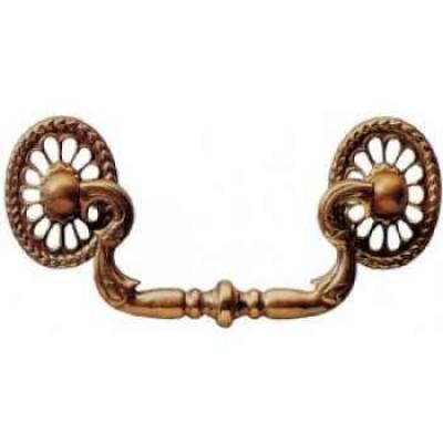 """Cabinet handle, 3"""", antique"""