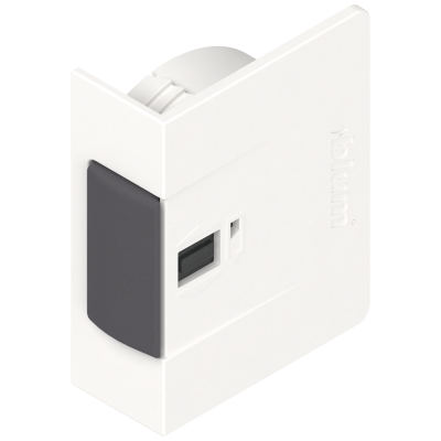 SERVO-DRIVE switch for AVENTOS, symmetrical, silk white
