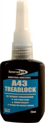 Threadlock, size 25 ml, A43