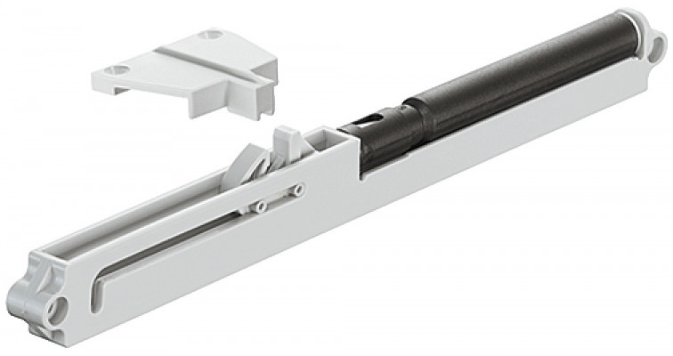 Soft & self closing mechanism, smuso, use on drawer sides, with follower, thickness 19 mm