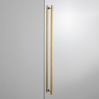 Closet bar handle, double-side