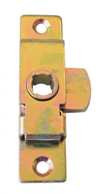 Rim lock, tee key operation, steel, order lock & strike plate separately, budget lock