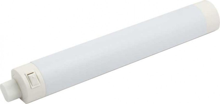 LED strip with integral swith, 2.9W/240V, rated IP20, L=260 mm, cool white 6500K
