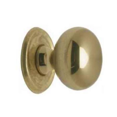 "Shutter knob, 1"", antique"