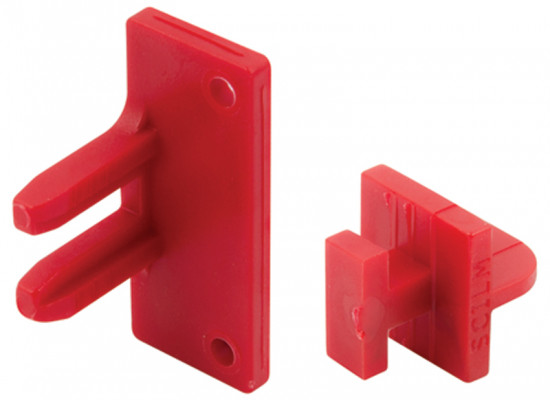 Connectors, for profiles, gola system b/c, screw fixing