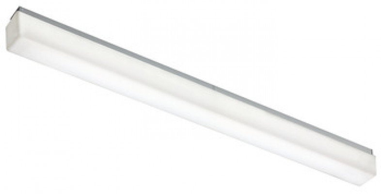 LED profile mirror light 240 V/16 W, rated IP44, warm white 3000 K, stratos, length 890 mm