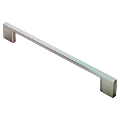 Slim D handle, centres 192 mm, satin nickel