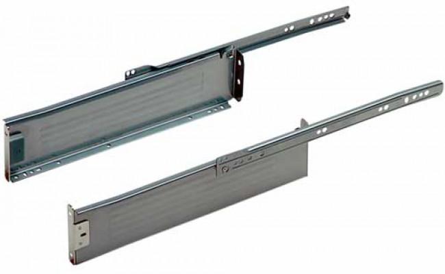 Metal Drawer Sides St Pl/Silv 85X450mm