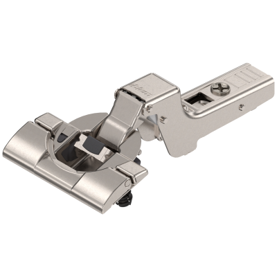 CLIP top BLUMOTION hinge 110°, INSET applications, boss: INSERTA, nickel