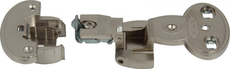 Exposed axle hinge cup, for 270ø/240ø/180ø single pivot hinge, quick mounting, Aximat 300