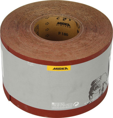 Red Abrasive Roll Grit 180