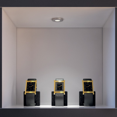 LED spotlight 350ma/1W, ›39, IP20, Loox LED 4014, cool white 4000 K
