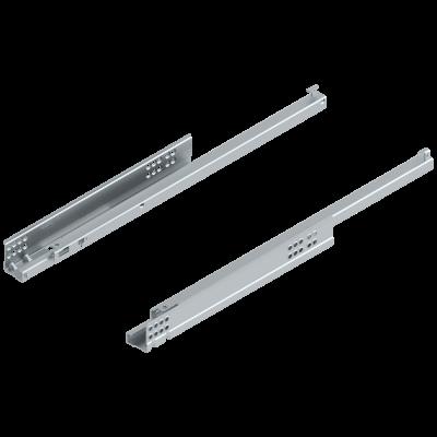 TANDEM plus TIP-ON, single extension, 30 kg, NL=500 mm, left+right, zinc