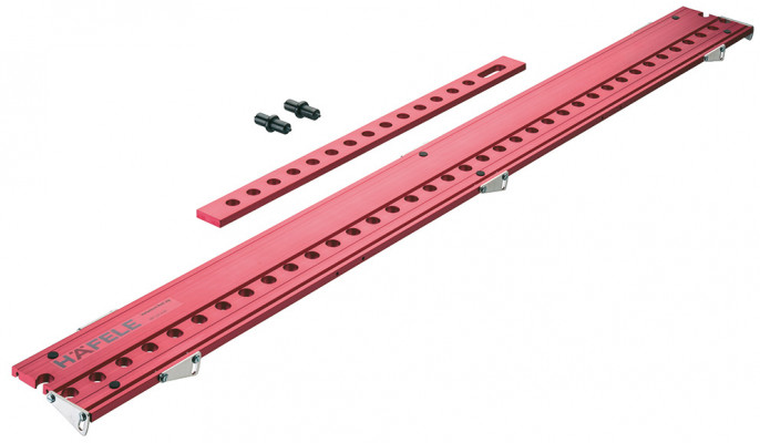 Drilling jig, variantool-n, ixconnect, for drilling › 5 mm holes at 32 mm intervals