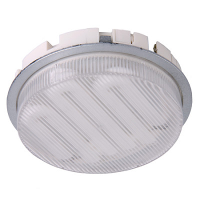 Downlight GX53, LED lamp, 2.2W/240, V LED lamp Ø 74 mm, cool white 6500 K