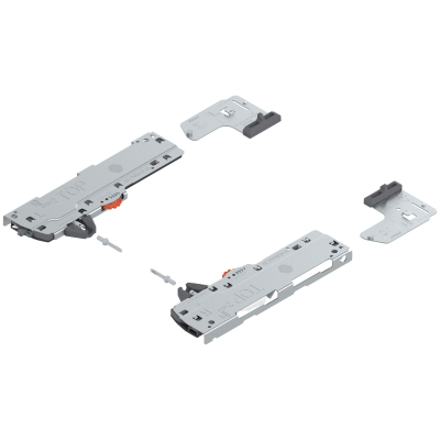 TIP-ON BLUMOTION (unit+latch) for LEGRABOX/MOVENTO, type L5, NL=450-750 mm, 35-60 kg