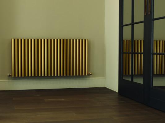 RON, radiator, 600x676 mm, aluminum radiator, RAL9002, grey/white