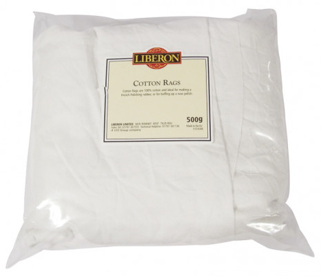 Rags, 100% pure cotton, for wood care, 1 kg