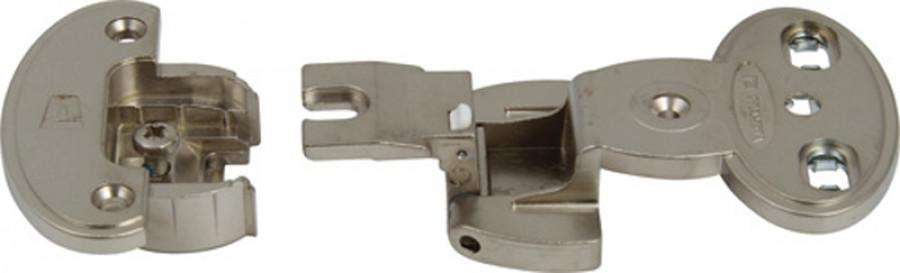 Exposed axle hinge arm, 240ø single pivot, screw fixing, aximat 300, order hinge arm