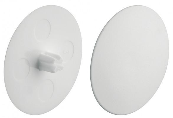 Maxifix universal connectors, cover cap, plastic,white, › 39 mm