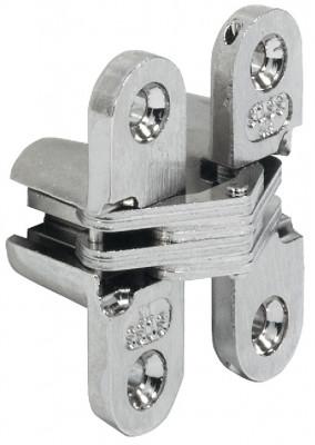 Soss Hinge 208 Stst Bra Plt 22-26mm