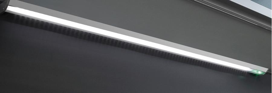 LED strip (0.45 m), 4.6W/12V, H=20 mm, D=48 mm, IP 20, LOOX compatible, day light 6000K