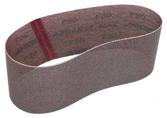 Sanding belt, narrow, 100x610 mm, Abranet Max, Mirka, Grit 80