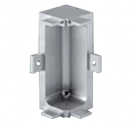 Connectors, for internal corners, for profiles, gola system c plus, silver