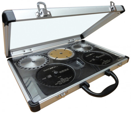 Saw blade, set, Batavia mad Maxx multi plunge saw, in aluminium carrying case
