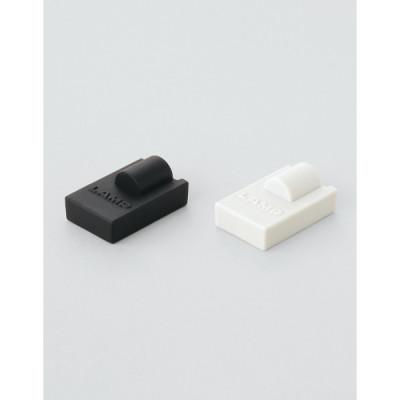 Shelf support cap, white