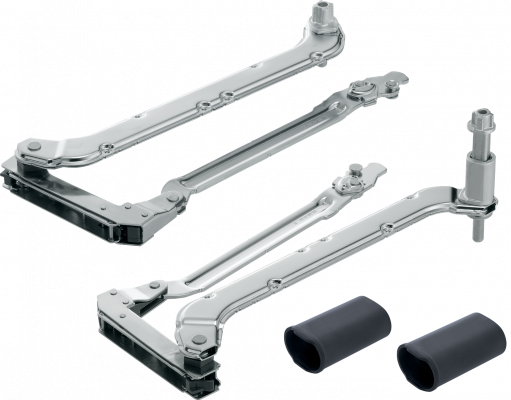 AVENTOS HL lift up, lever arm (set), CH=400-550 mm