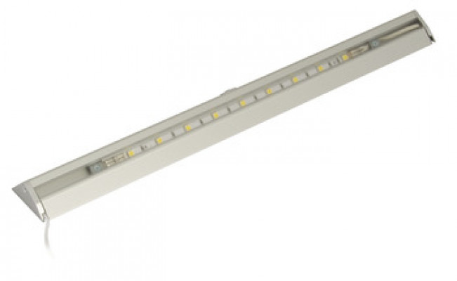 LED strip, switch sensor, 5.6W/12 V, L=550 mm, IP20, LOOX comp., daylight white 6000K