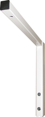 Height adjustable fittings , worktop bracket, ropox, white