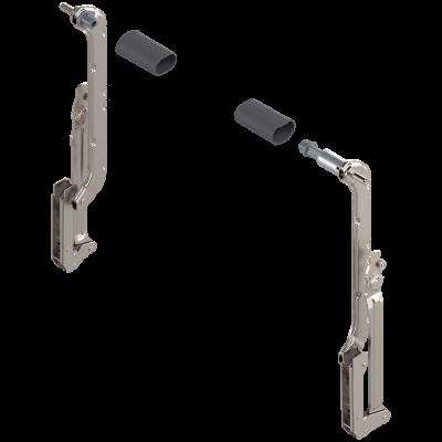 AVENTOS HL lift up, lever arm (set), CH=400-550 mm